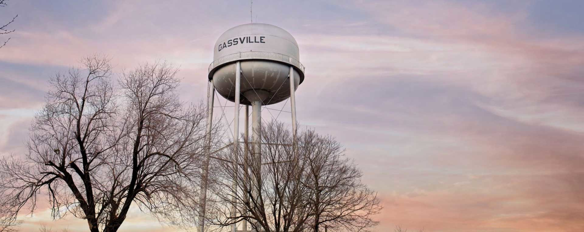 City of Gassville Water Tower