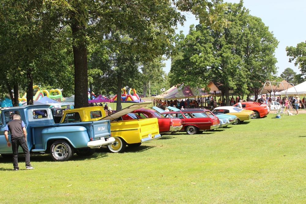 Gassville in the Park cars